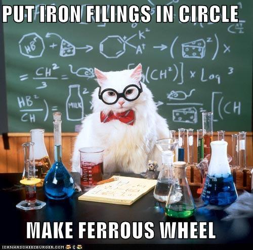 Chemistry cat 1